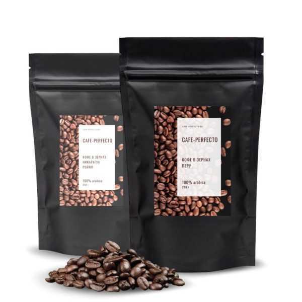 кофе в зернах америка