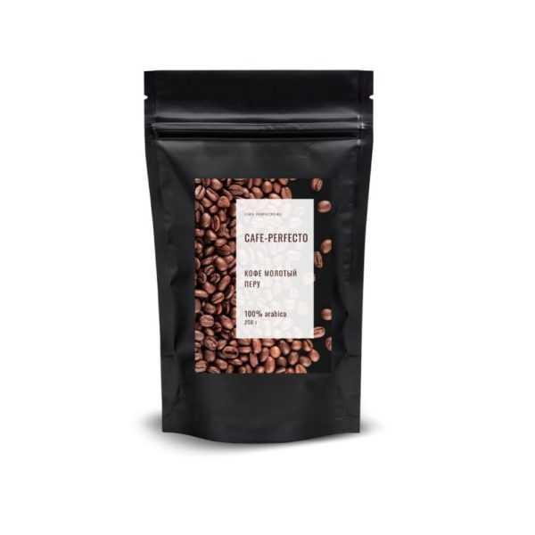 кофе молотый перу