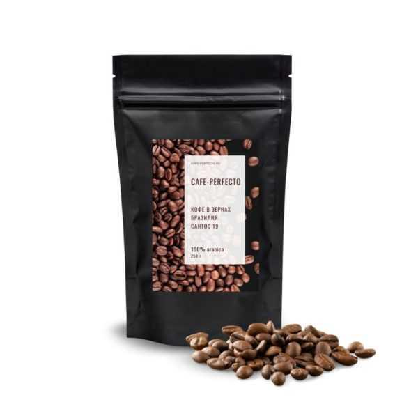 бразильский кофе сантос